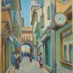 (1)Herman-Pecaric---Koper--Cevljarska-ulica---olje-ne-platnu_54e9e75e249a4