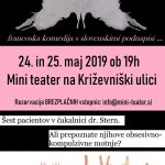 Toc toc v Mini teatru 24. in 25.5. 2019