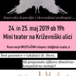 Toc toc v Mini teatru 24. in 25.5. 2019